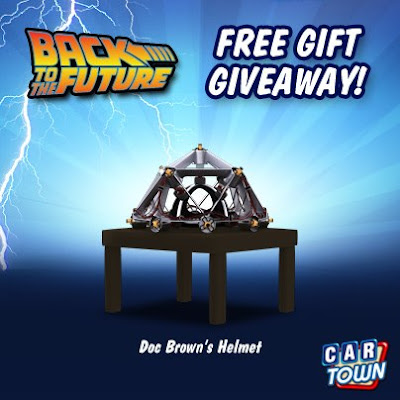 Code promo Volver al futuro sombrero de Doc Brown
