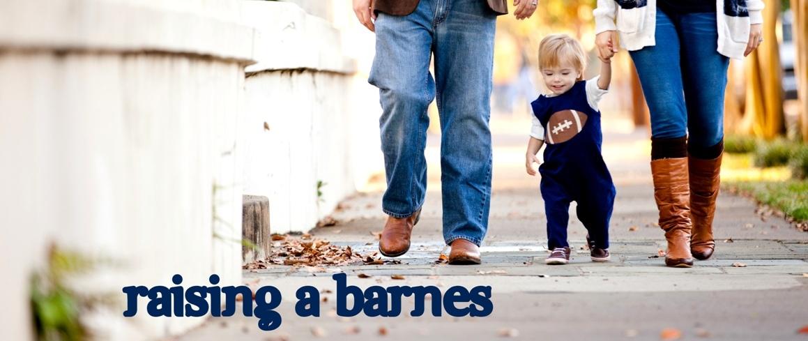 raising a BARNES