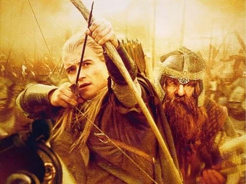 Legolas e Gimli