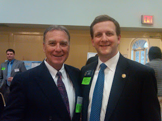 11th Annual Georgia Legislative Reception: Werner Braun & Senator Bethel
