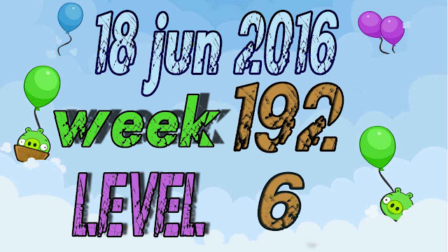 Angry Birds Friends Tournament level 6 Week 192