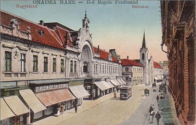 Oradea veche - Bulevardul Regele Ferdinand