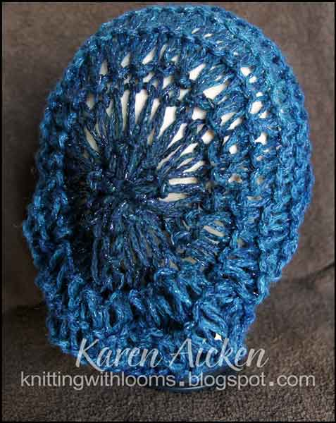 How To Loom Knit Slouchy Beanie Basketweave : Knitting with looms first slouch hat