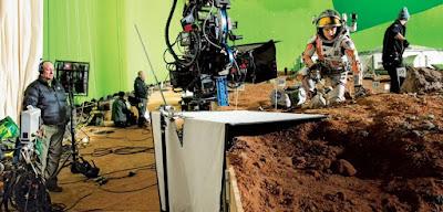 The Martian detrás de las cámaras