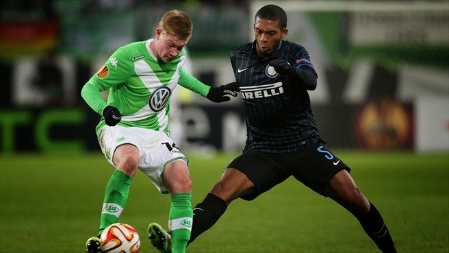 VIDEO Wolfsburg-Inter 3-1 gol highlights Europa League