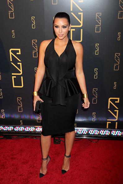 Kim Kardashian Little Black Dress
