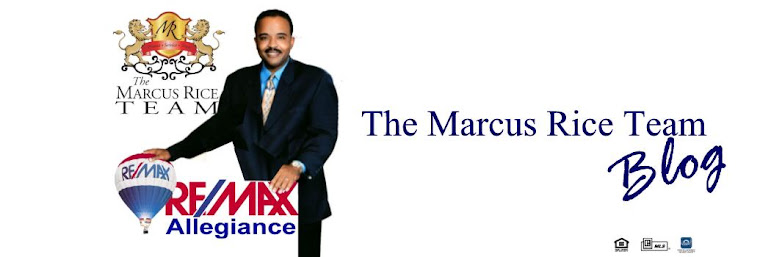 The Marcus Rice Team Blog  - The Marcus Rice Team, RE/MAX Leading Edge - MD, DC, VA