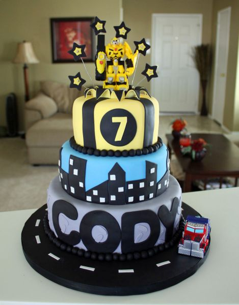 cakes by dusty s transformers cake