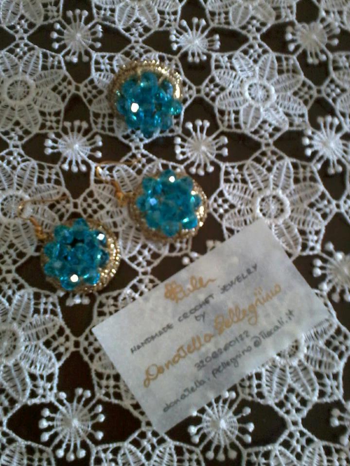 """Ora vi lascio alla presentazione di """"LULE"""" handmade crochet jewelry di ..."""