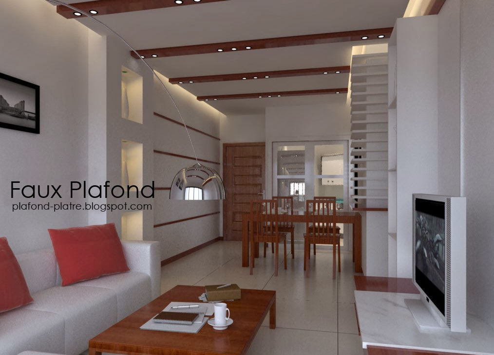 Design faux plafond des salons for Platre decoration salon