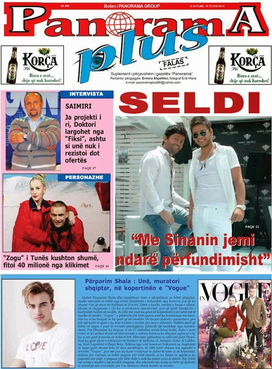 "Revista ""Panorama Plus"", 19 Tetor 2013"