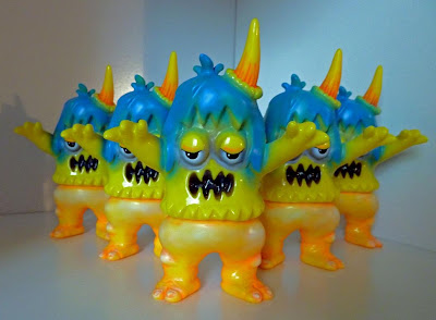 New York Comic-Con 2011 Neon Sleepy Eyes Ugly Unicorn Vinyl Figure by Rampage Toys