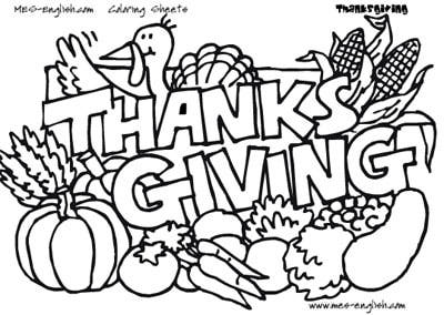 most excellent thanksgiving coloring pages