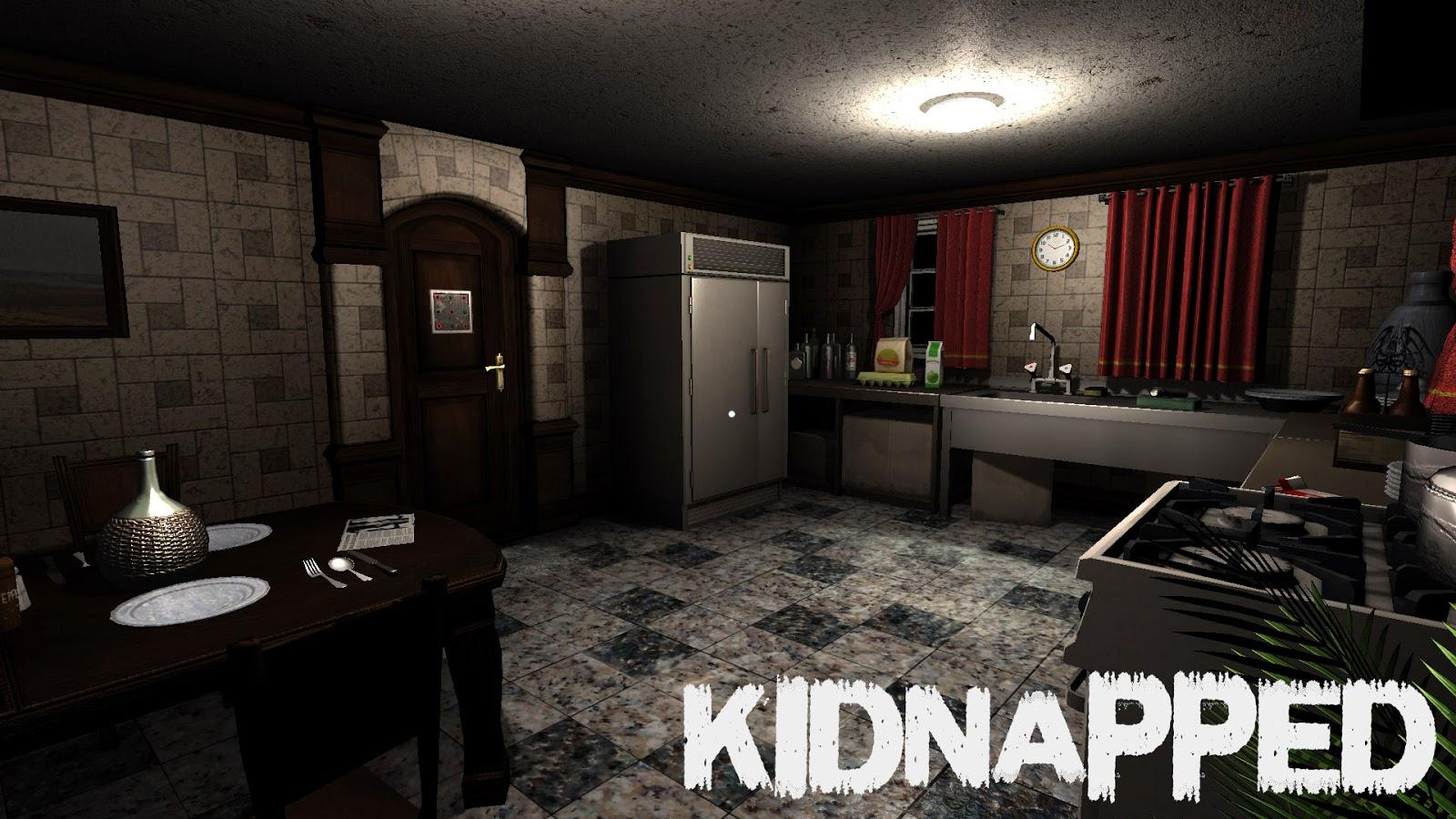 لعبة الرعب الرائعة kidnapped كاملة