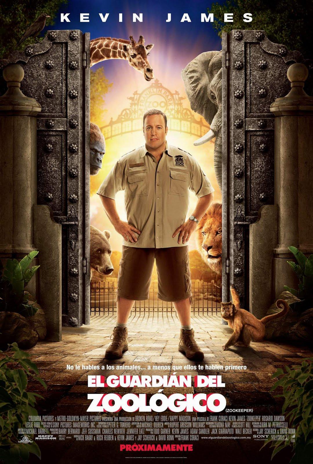 Ver Pelicula El Guardían del Zoológico (Zookeeper) (2011) Gratis Online
