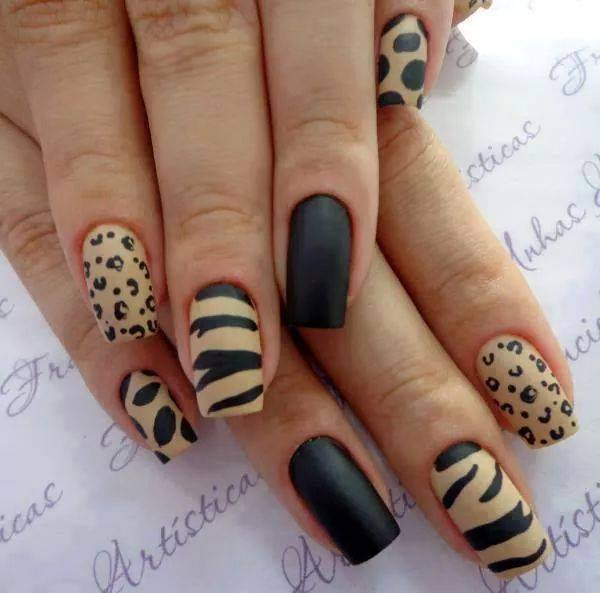 Green Tiger Nail Art - Animal Nail Art Ideas Fashionate Trends - Tiger Nail  Art Graham - Tiger Nail Art Graham Reid