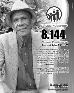 Lista de Nuevos Pensionados del Seguro Social 19 de Agosto 2012
