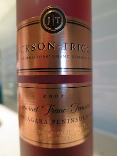 Photo of 2007 Jackson-Triggs Proprietors' Grand Reserve Cabernet Franc Icewine 2007 from Niagara