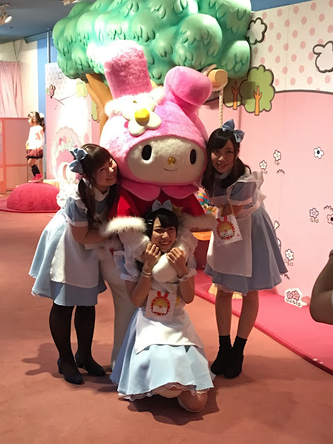 Sanrio Puroland my melody cute japanese girls