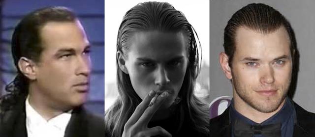 Model rambut panjang pria yang rapi