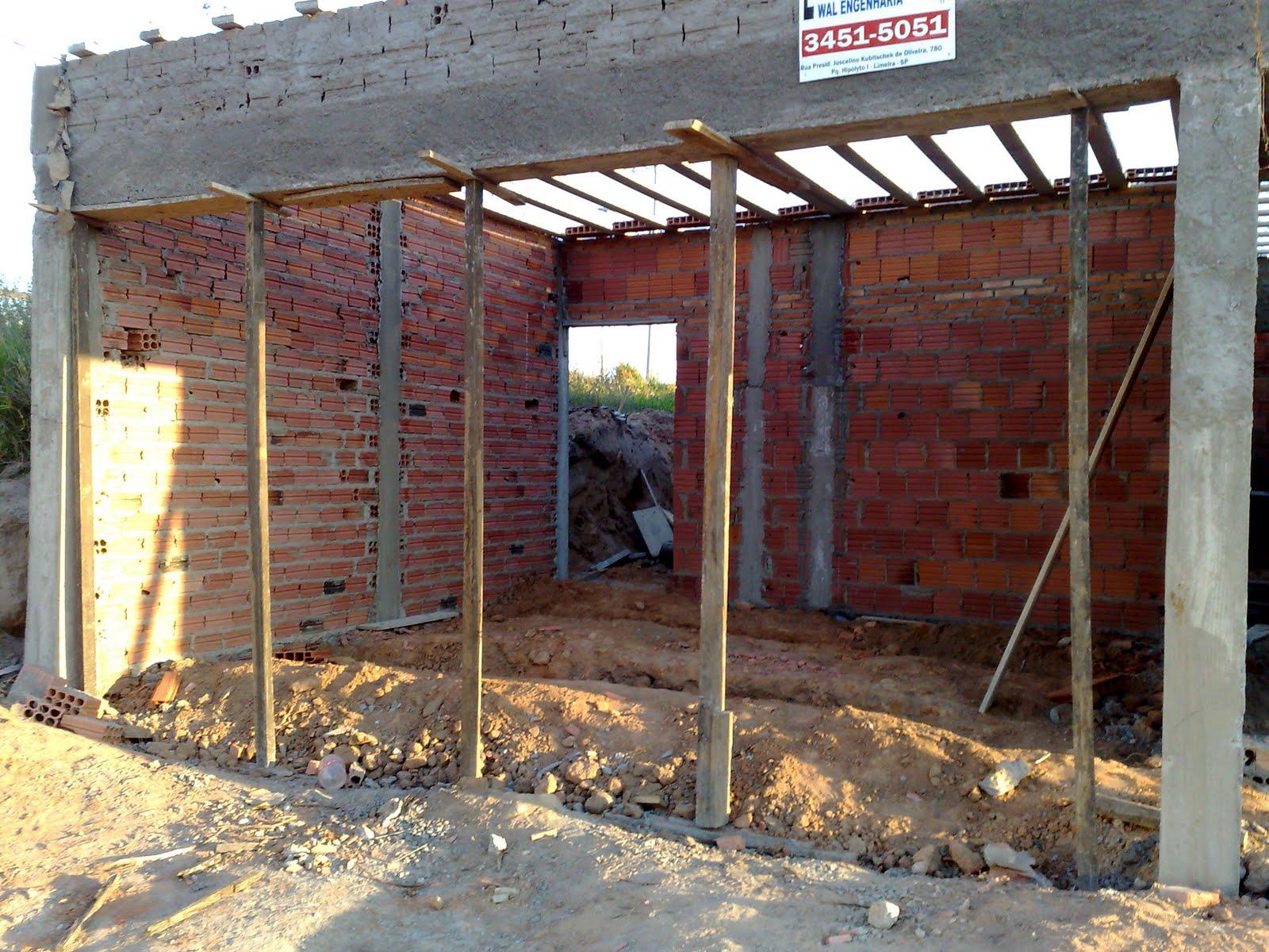 Passo a passo da construção da minha primeira casa: Maio 2011 #9E7A2D 1600 1200