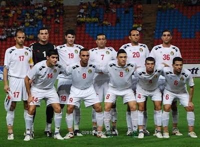 المنتخب الوطني الأردني لكرة القدم