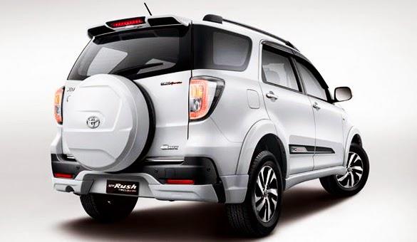 Mobil Toyota New Rush Terbaru 2015