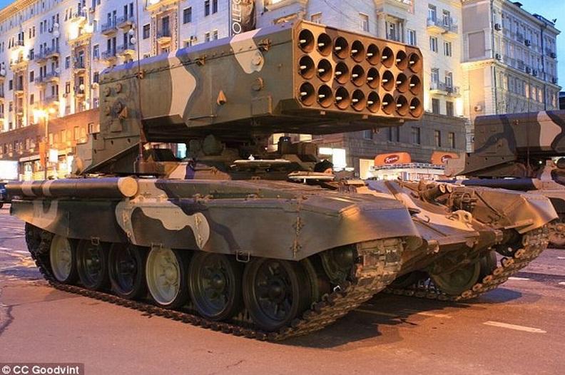 Rusia Gunakan Salah Satu Senjata Mematikan dan Menakutkan yang Pernah Ada