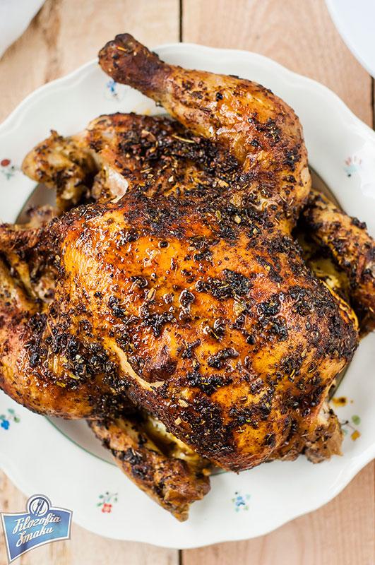 Kurczak pieczony w rękawie przepis