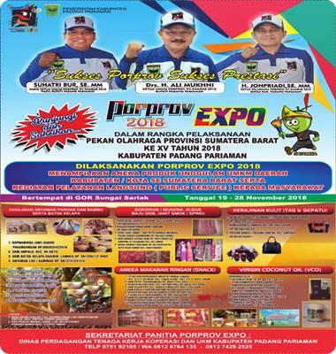 Iklan PORPROV EXPO'18