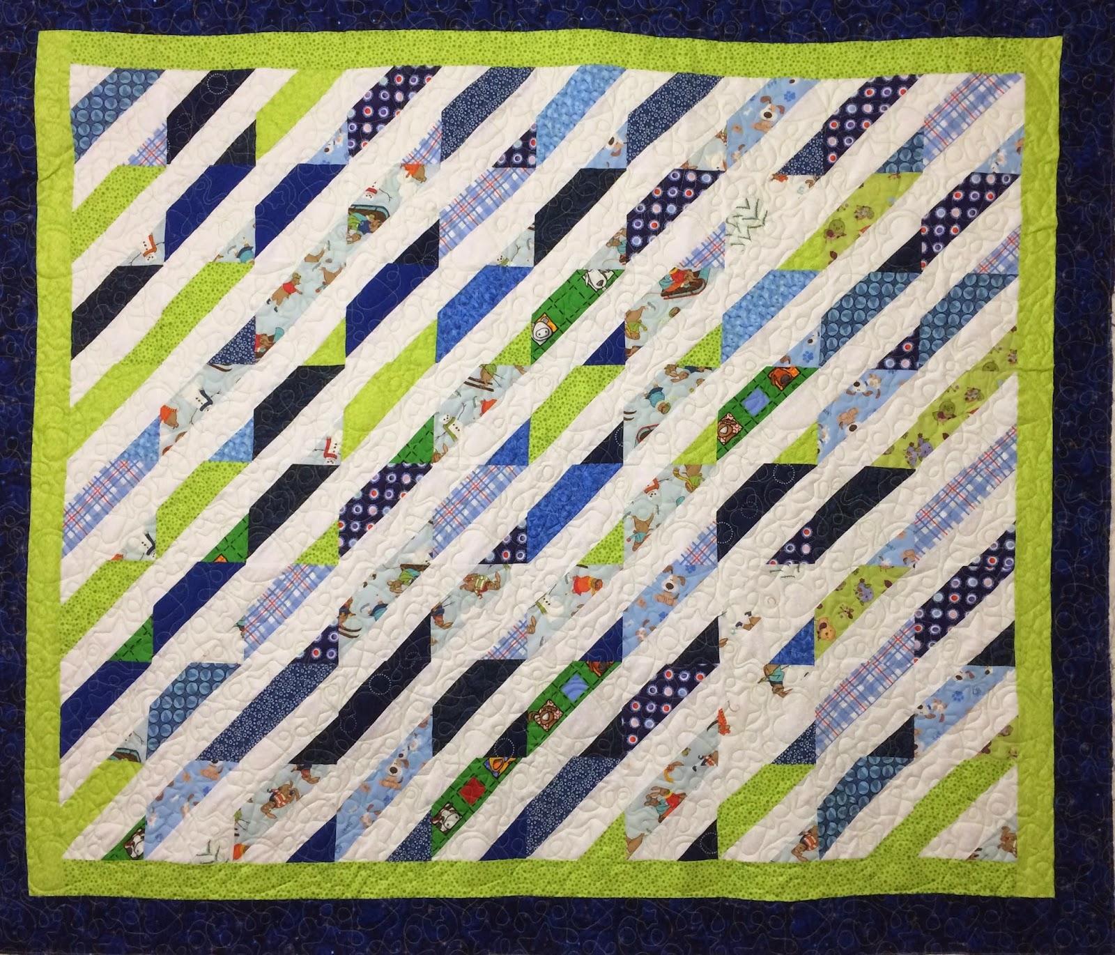 Judi Castro Diagonal Quilt