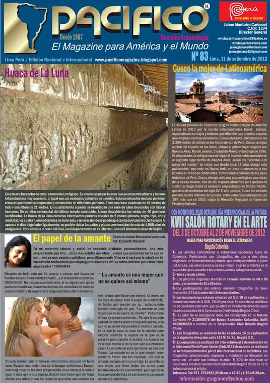 Revista Pacífico Nº 83 Arqueología