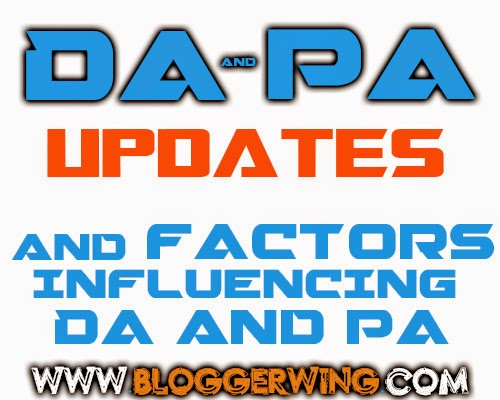 SEO Moz DA and PA updates And Factors Influencing Them