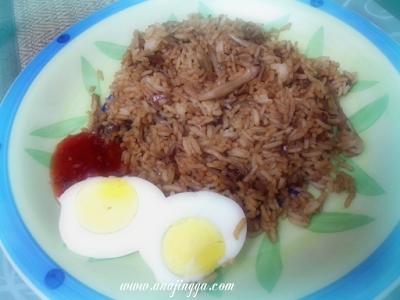 resepi nasi goreng cendawan