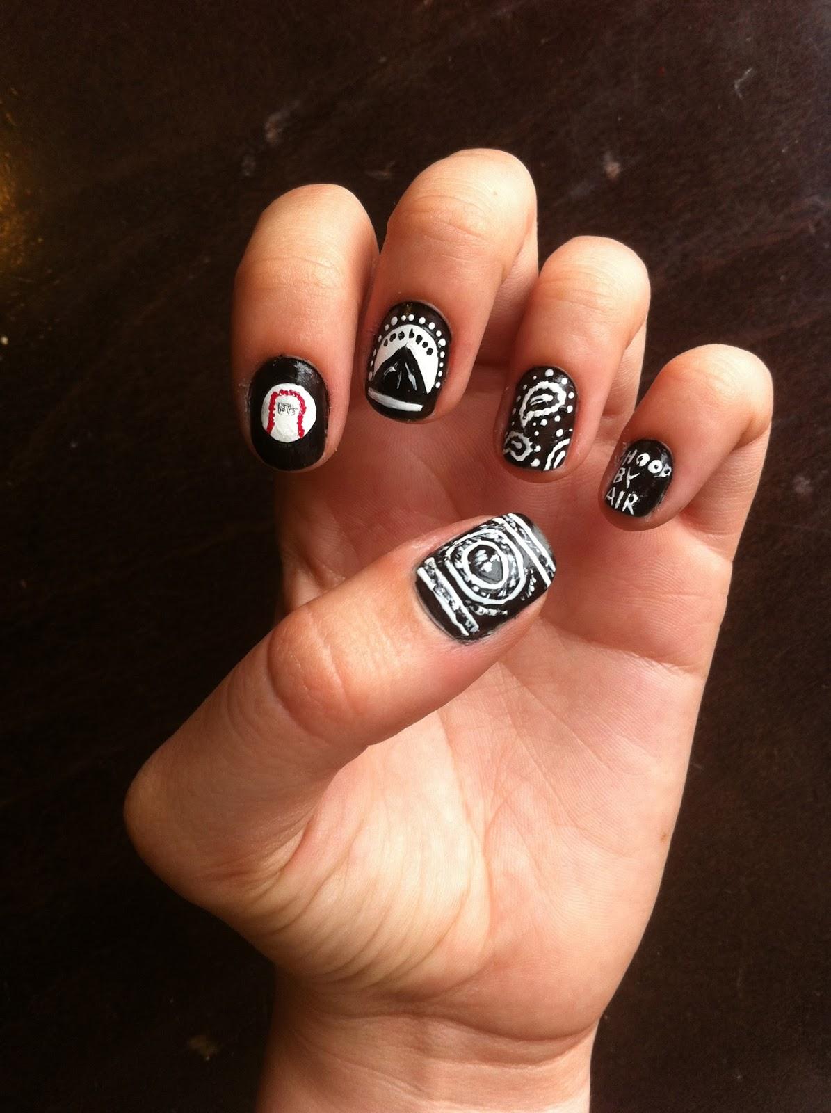 Zetsubou\'s nail art