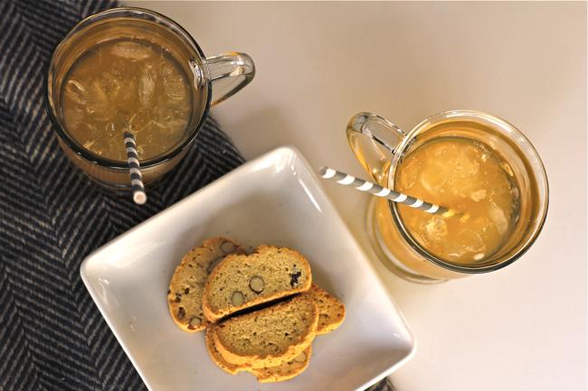 tea, lemonade, green tea, plum deluxe, food blogger, OC Blogger