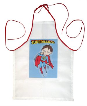 fartuch z nadrukiem superman