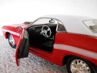 maqueta muscle car americano
