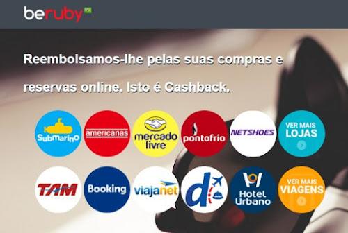 beruby- Compre na internet e receba parte do dinheiro de volta