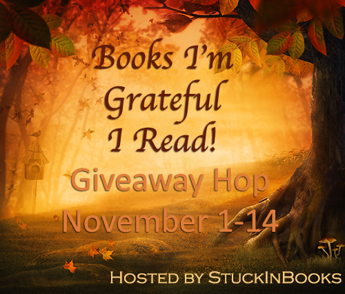 Books I'm Grateful I Read Giveaway Hop!