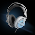 SteelSeries Siberia V2 Frost Blue Edition, Gaming Headset With LED Lights in Section Earpad