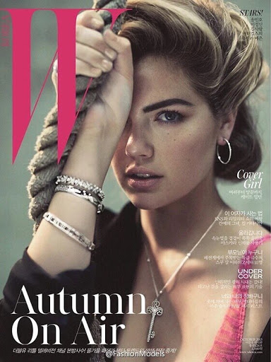 Kate Upton hot in W Magazine October 2015 photo shoot