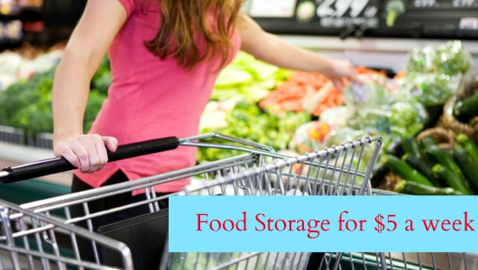 Food storage - Magazine cover