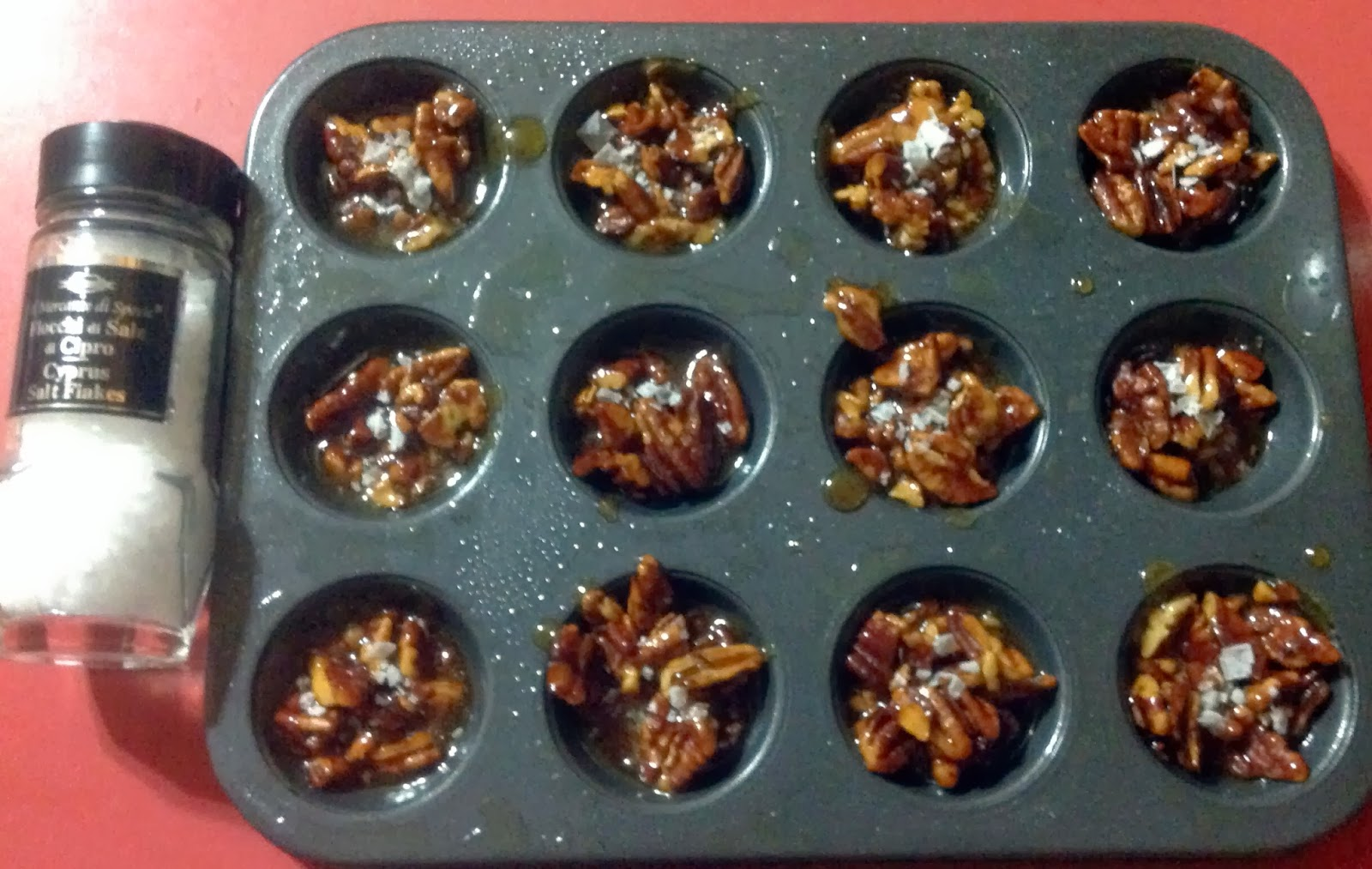 Couple in the Kitchen: Christmas Countdown: Pecan Sea-Salt Drops