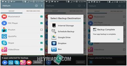Cara Backup Data Aplikasi Android Tanpa Root