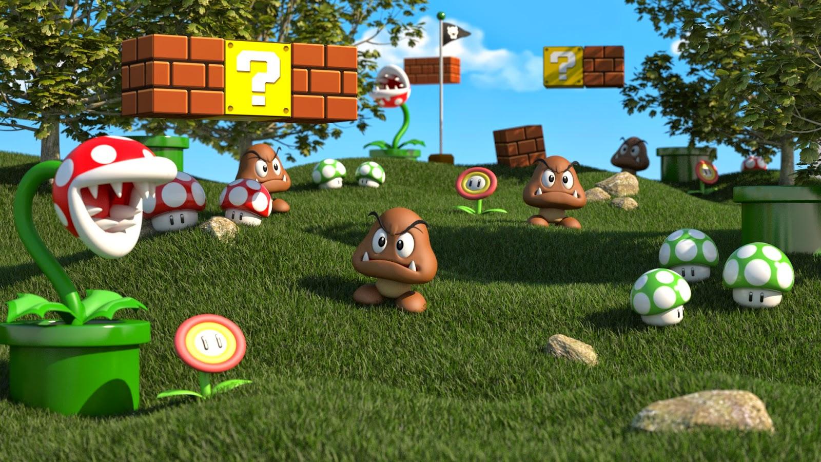 next gen mario game wii u new super mario brothers bros graphics 2015