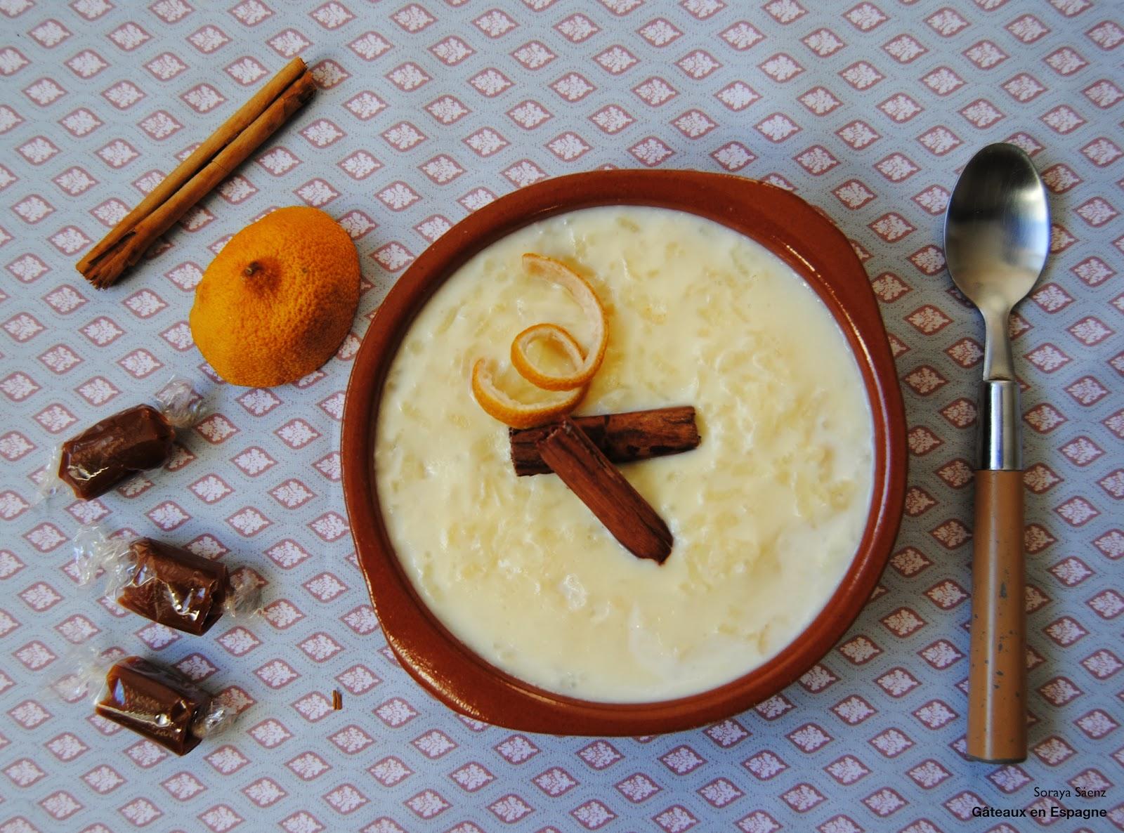 g teaux en espagne recette du riz au lait fa on ma grand m re. Black Bedroom Furniture Sets. Home Design Ideas