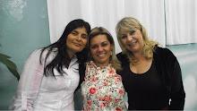 Eu com Pra Leda Pagliarin e Pra Margareth