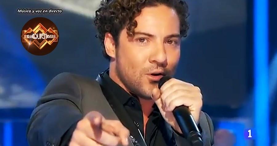 ... David Bisbal, que presenta su nuevo single Diez Mil Maneras . Este es