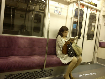 Trains silent most of the times - Japan